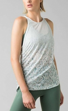 PrAna Amata Top - White Stargazer