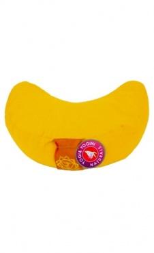 Half Moon basic meditation cushion - Sunbeam yellow