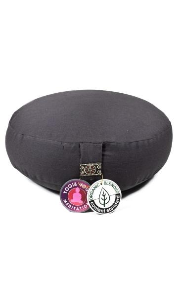Meditation Cushion Basic Low - Graphite