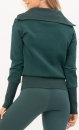 Gravity Turtle Neck Sweater - Emerald - 1