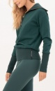Gravity Turtle Neck Sweater - Emerald - 2