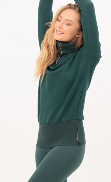 Gravity Turtle Neck Sweater - Emerald - 3