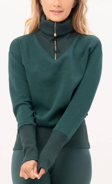Gravity Turtle Neck Sweater - Emerald - 4