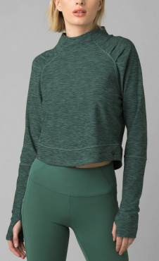 prAna Zandra Funnel Neck - Peacock