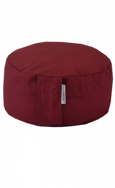 Love Generation Meditation Cushion - Burgundy Red - 1