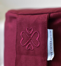 Love Generation Meditation Cushion - Burgundy Red - 3