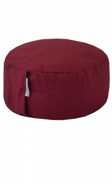 Love Generation Meditation Cushion - Burgundy Red - 4