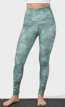 Manduka Performance Legging - Tie Dye Green