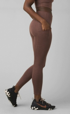 Becksa 7/8 Legging Flannel Heather