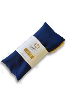 Love Generation Silk Eye Pillow - Royal Blue