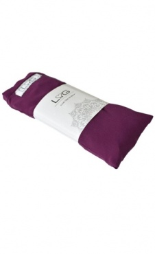 Love Generation Silk Eye Pillow - Beetroot