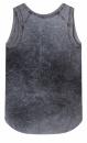 10Days Sleeveless Linen Top - Washed Dark Grey Blue - 1