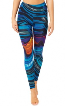 Natural Printed Legging Vulcano