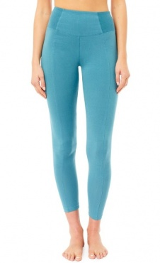 High Waist Rib Leggings Bolshoi Green