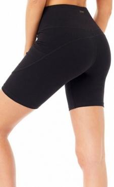Pocket Biker Shorts - Black