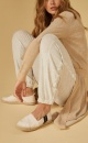 10Days Soft Suave Pants - Soft White Melee - 5