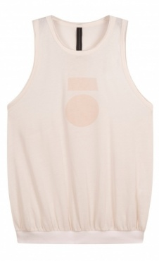 10Days Racerback Top Medal - White Sand