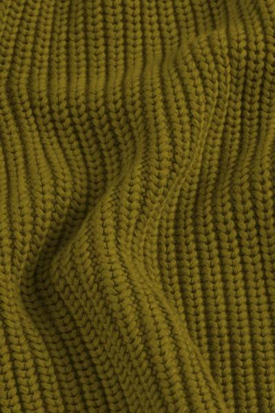 Lanius Cotton Knit Cardigan - Olive - 7