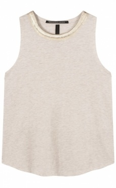 10Days Soft Sleeveless Top - Sand Melee