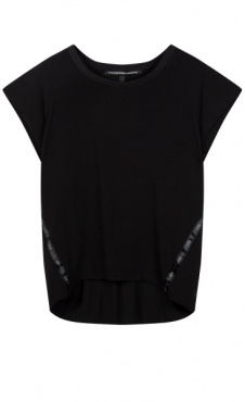 10Days Soft Cap Sleeve Tee - Black