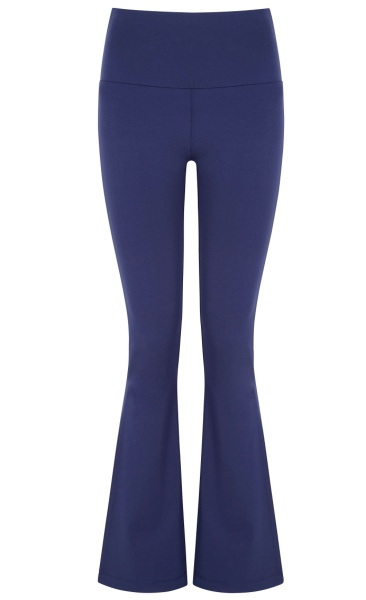 Asquith Extra Long Flared Pants - Midnight