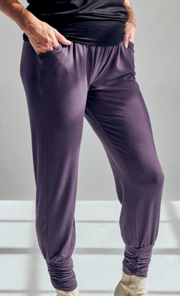 321 Long Harem Pants - Pebble - 1