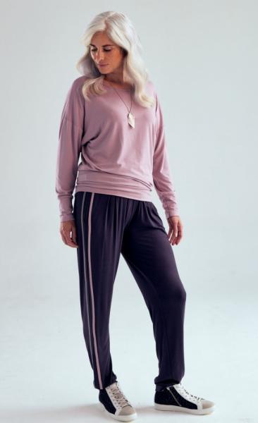 321 Drawstring Pants - Grey Pebble Blush - 4