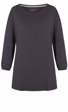 3/4 Sleeve Tee - Pebble