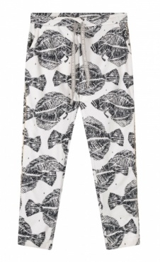 10Days Cropped Jogger Piranha - Ecru
