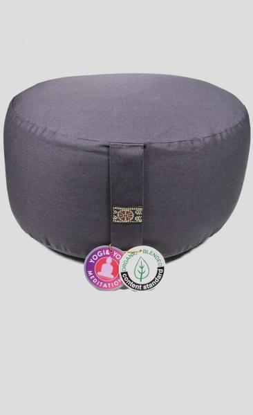 Meditation Cushion Basic Extra High - Graphite