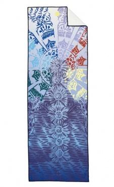 Chakra Yogitoes Yoga Towel Blue