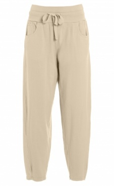 Relaxed Fit Pants - White Sand Khaki