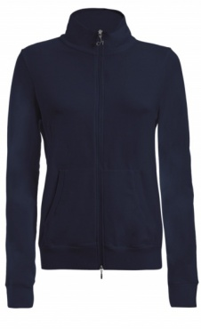 Zip Sweat Jacket - Night Blue