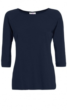 3/4 Sleeve Tee - Night Blue