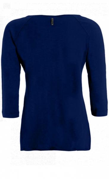 3/4 Sleeve Tee - Night Blue - 2