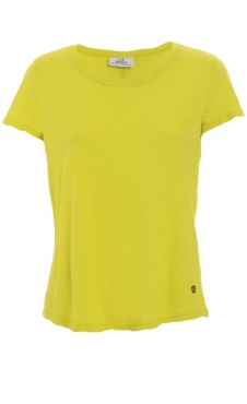 Round Neck Basic Tee - Lime