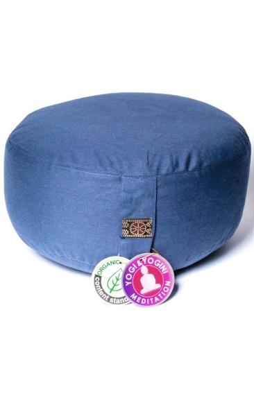Meditation Cushion Basic - Denim Blue