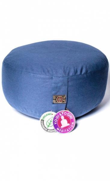 Meditation Cushion Basic - denim Blue - 1
