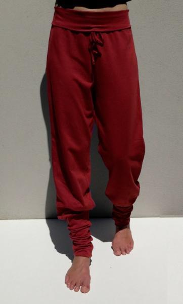 Anjali Yoga Pants - Deep Coral - 1