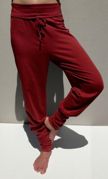 Anjali Yoga Pants - Deep Coral - 2