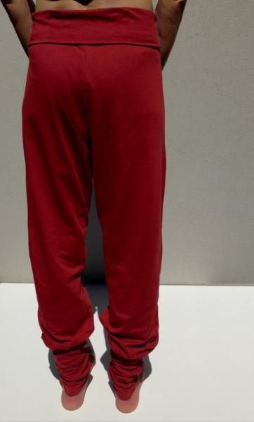 Anjali Yoga Pants - Deep Coral - 3