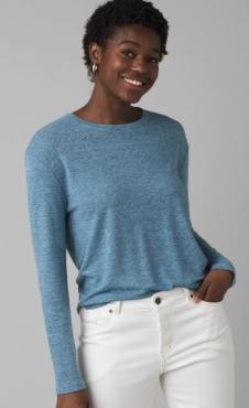 PrAna Cozy Up Longsleeve - Reed Heather