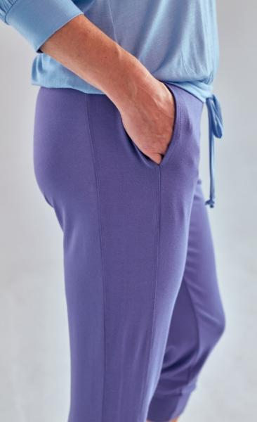 Asquith Crop Pant - Azure - 2