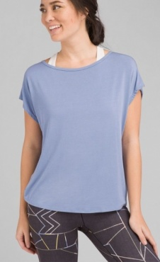 PrAna Rowena Top - Colony Blue