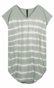 10Days Tunic Dress Tie Dye - Pistache