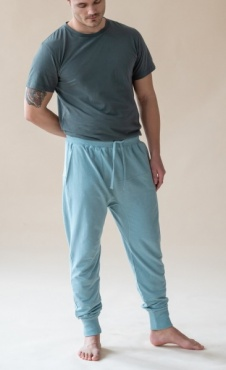 Mudra Pants Blue Mist