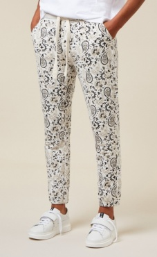 10Days Cropped Jogger Paisley