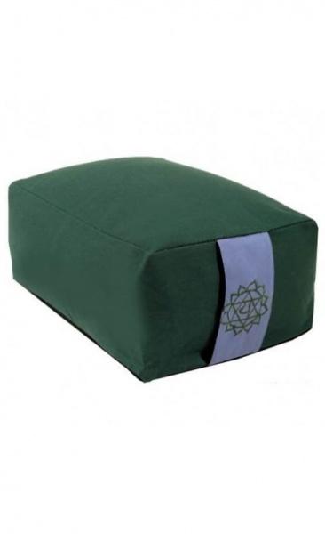 Squared Meditation Cushion - Green