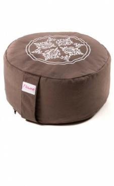 Meditation Cushion Mandala - Taupe