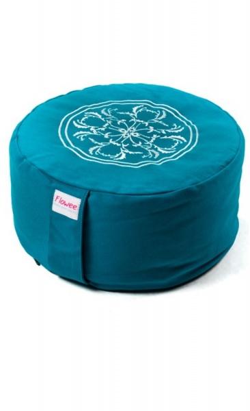 Meditation Cushion Mandala - Azure